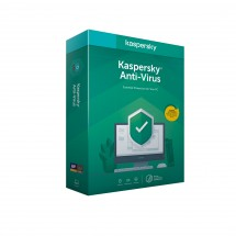 Kaspersky Anti-Virus 3x 1 year Base BOX