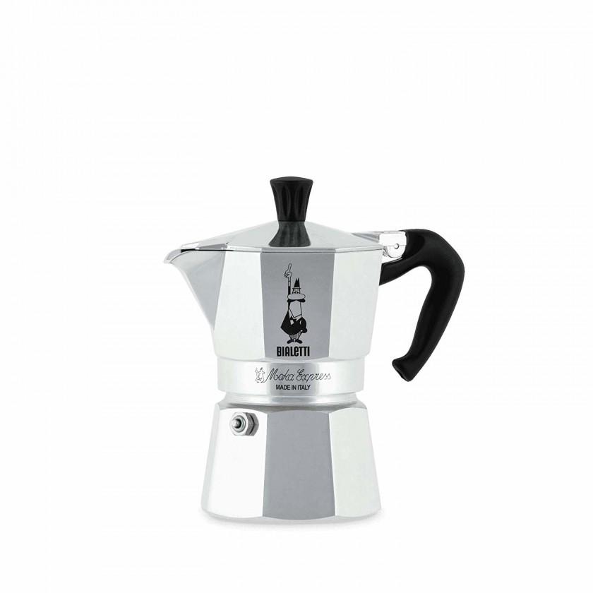 Kávovar Bialetti Moka Express 3, strieborná