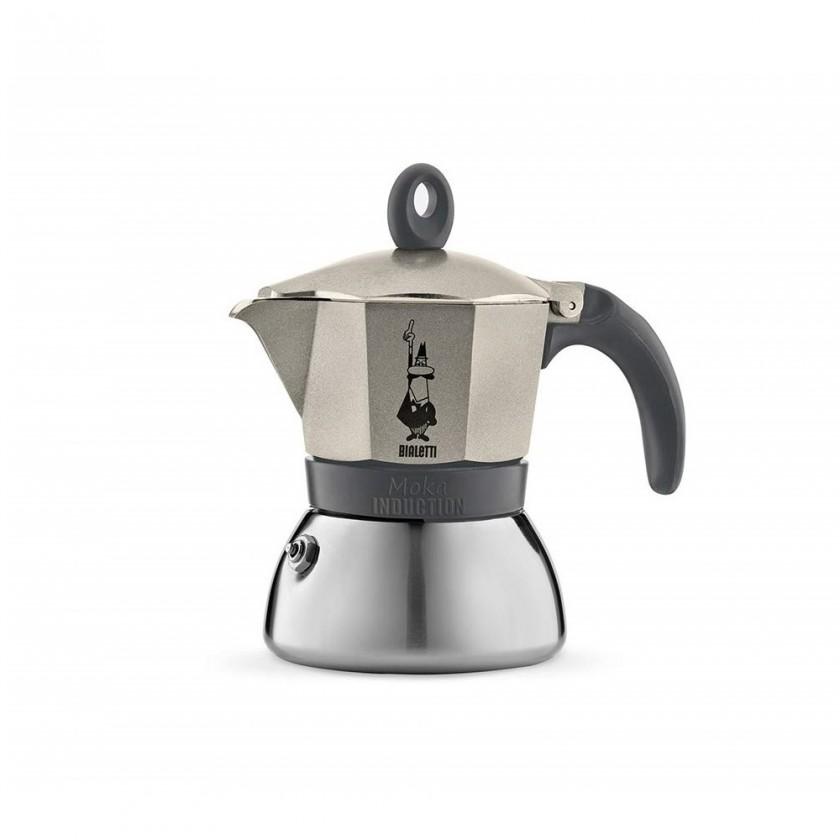 Kávovar Bialetti Moka Induzione 3, sivá