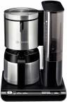 Kávovar Bosch TKA 8653 Styline, nerez / čierna