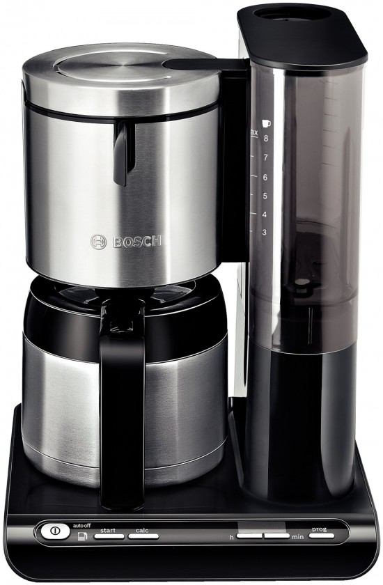 Kávovar Kávovar Bosch TKA 8653 Styline, nerez / čierna