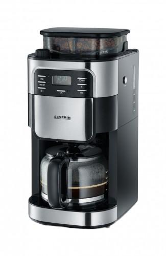 Kávovar Severin KA4810, nerez / čierna, s kávomlynčekom