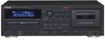Kazetový magnetofón a CD prehrávač s USB TEAC AD-850, čierny