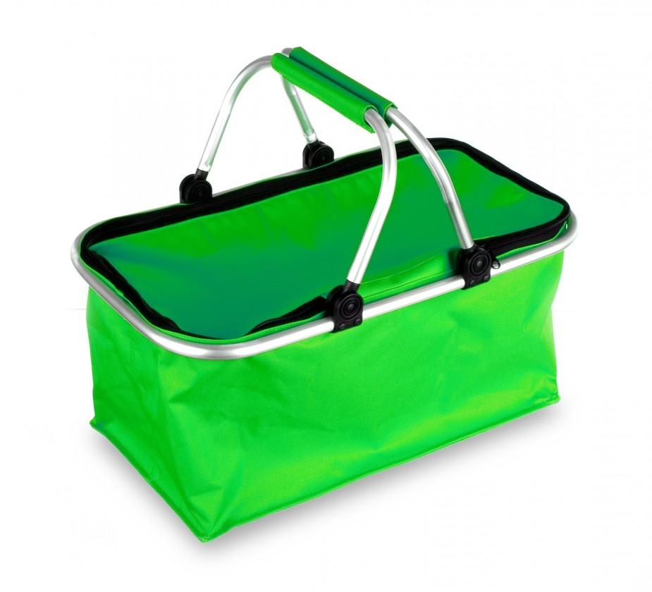 Kempingový košík (zelená)