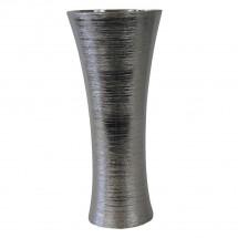 Keramická váza VK64 strieborná (35 cm)
