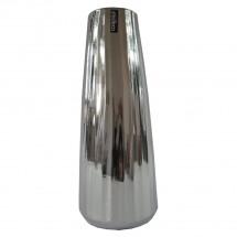 Keramická váza VK70 strieborná (35 cm)