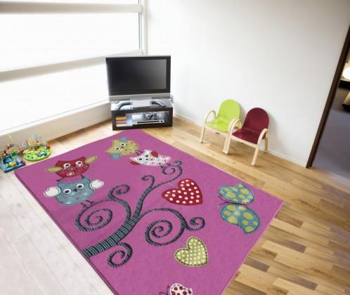 Kids 420 lila - Koberec 120x170 cm