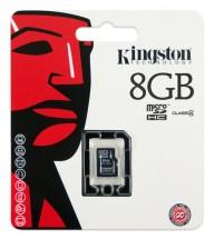 Kingston Micro SDHC 8GB Class 4 - SDC4/8GBSP