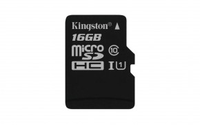 Kingston Micro SDHC Canvas Select 16GB 80MB/s UHS-I SDCS/16GBSP