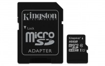 Kingston Micro SDHC Canvas Select 16GB + SD adaptér SDCS/16GB
