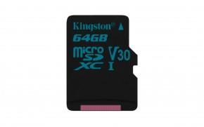 Kingston Micro SDXC Canvas Go! 64GB 90MB/s UHS-I U3SDCG2/64GBSP