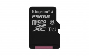 Kingston Micro SDXC Canvas Select 256GB 80MB/UHS-I SDCS/256GBSP