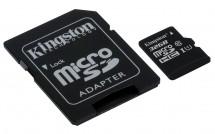 Kingston MicroSDHC 32GB UHS-I U1 + SD adapter