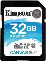 Kingston SDHC Canvas Go! 32GB, UHS-I U3 SDG/32GB ROZBALENÉ