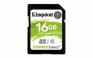 Kingston SDHC Canvas Select 16GB 80MB/s UHS-I  SDS/16GB