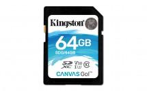 Kingston SDXC Canvas Go! 64GB, UHS-I U3 SDG/64GB