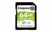 Kingston SDXC Canvas Select 64GB 80MB/s UHS-I  SDS/64GB