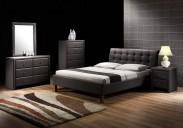 Kirsty - Posteľ 200x160, rám postele, rošt (čierna)