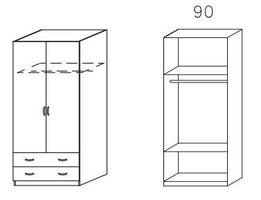 Klasická Case (Alpská biela)