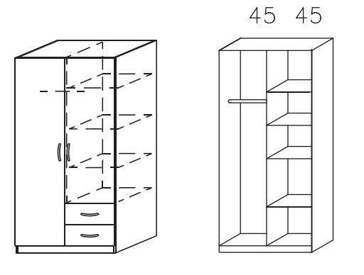 Klasická Case (Buk svetlý)