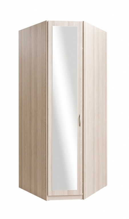 Klasická Cassanova rohová (jaseň coimbra/zrkadlo)