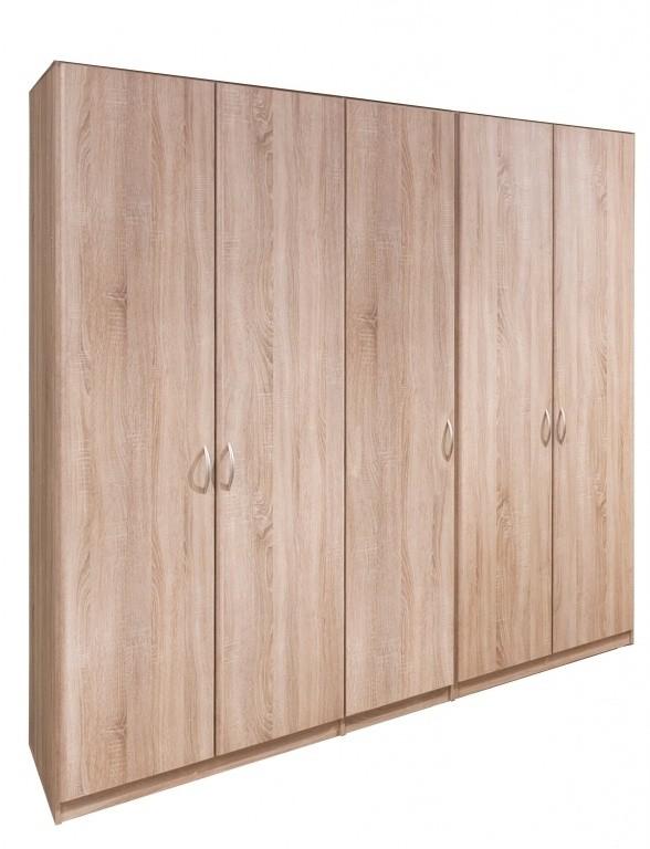Klasická Cassanova - Šatníková skriňa (5x dvere)