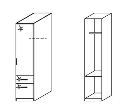 Klasická Celle, 1x dvere pravá
