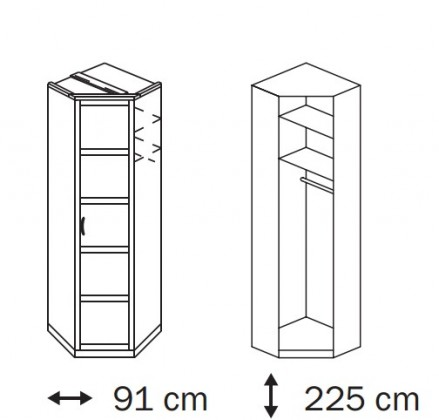 Klasická Elementa B A9187.4047 (Alpská biela)