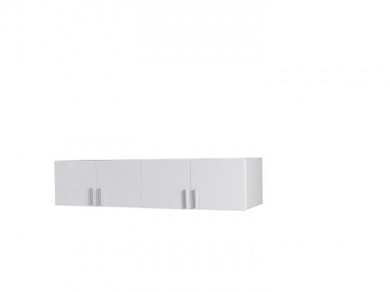 Klasická Nástavec Snow - 4D (biela/biela vysoký lesk)