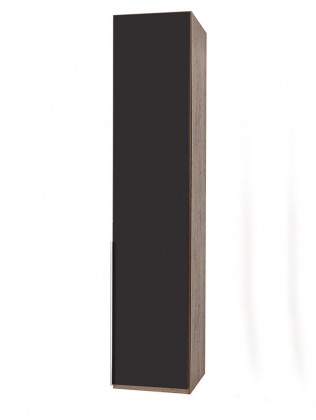 Klasická NewYork1 - Skriňa, 45/234/58 (láva/orech)