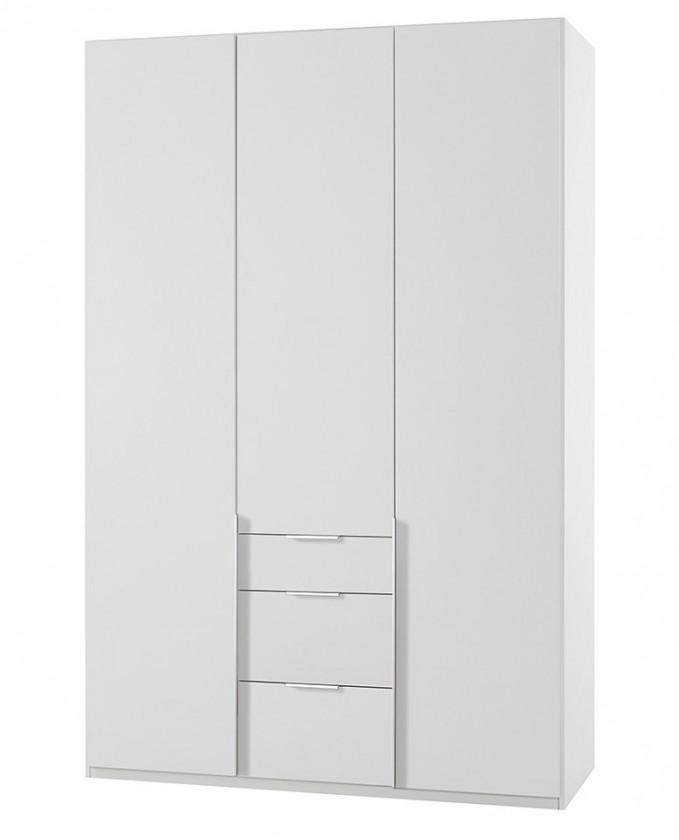 Klasická NewYork12 - Skriňa, 135/234/58 (alpská biela)