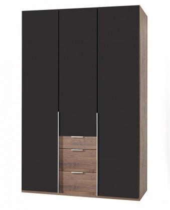 Klasická NewYork12 - Skriňa, 135/234/58 (láva/orech)