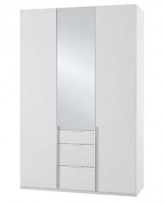 Klasická NewYork16 - Skriňa, 135/234/58 (alpská biela)