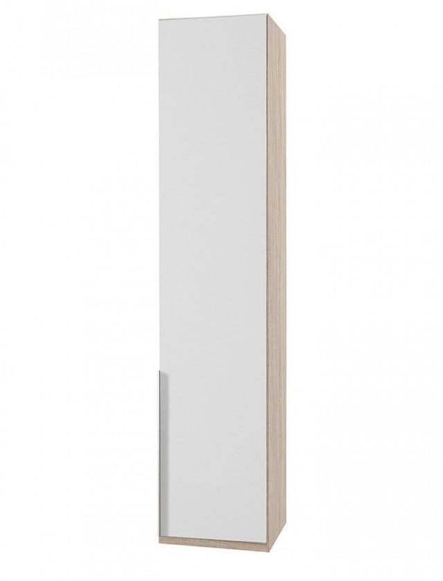 Klasická NewYork22 - Skriňa, 45/208/58 (alpská biela/dub)