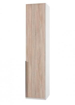 Klasická NewYork22 - Skriňa, 45/208/58 (dub/alpská biela)