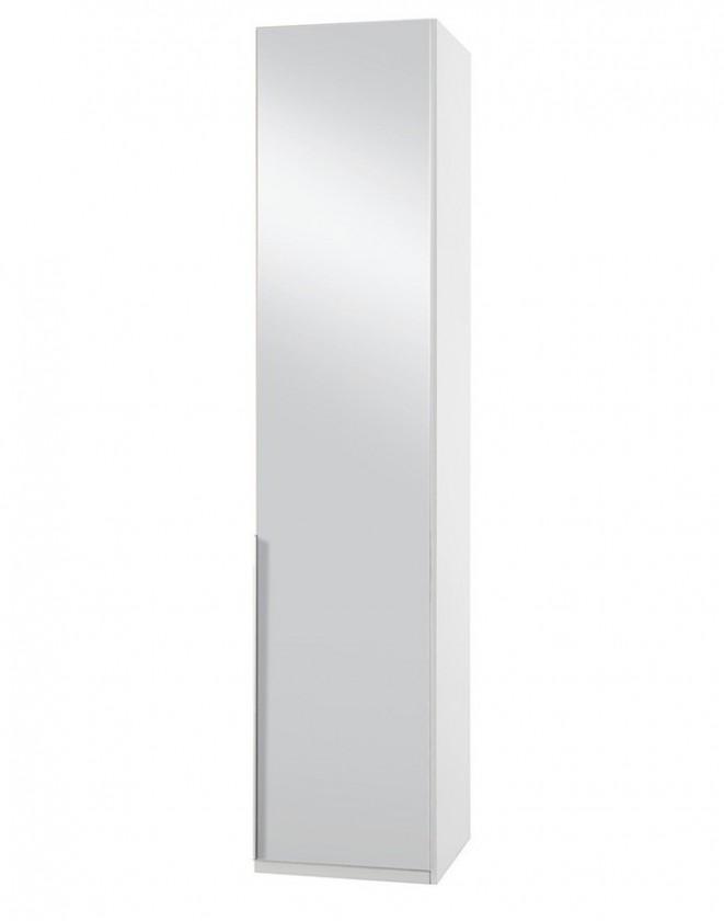 Klasická NewYork28 - Skriňa, 45/208/58 (zrkadlo/alpská biela)