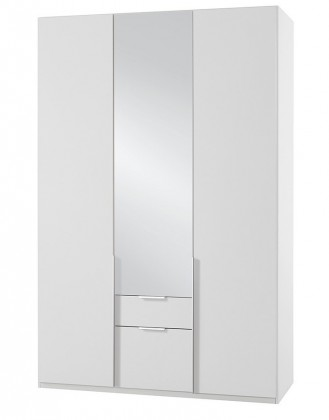 Klasická NewYork37 - Skriňa, 135/208/58 (alpská biela)