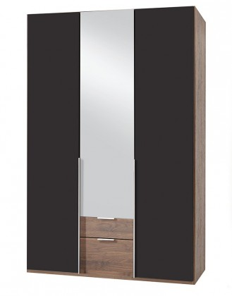 Klasická NewYork37 - Skriňa, 135/208/58 (láva/orech)
