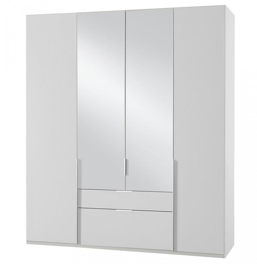 Klasická NewYork38 - Skriňa, 180/208/58 (alpská biela)