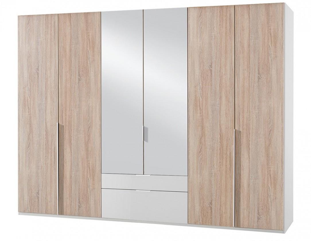 Klasická NewYork40 - Skriňa, 270/208/58 (dub/alpská biela)
