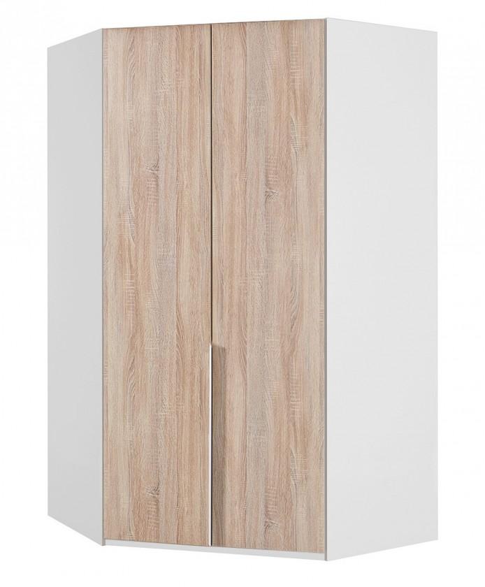 Klasická NewYork41 - Skriňa, 120/208/120 (dub/alpská biela)