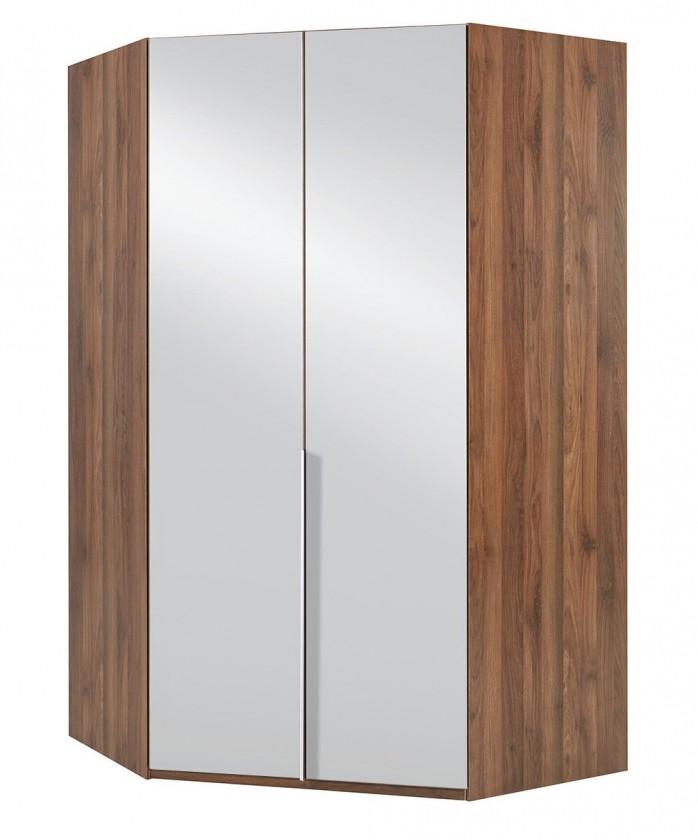 Klasická NewYork42 - Skriňa, 120/208/120 (alpská biela/orech)