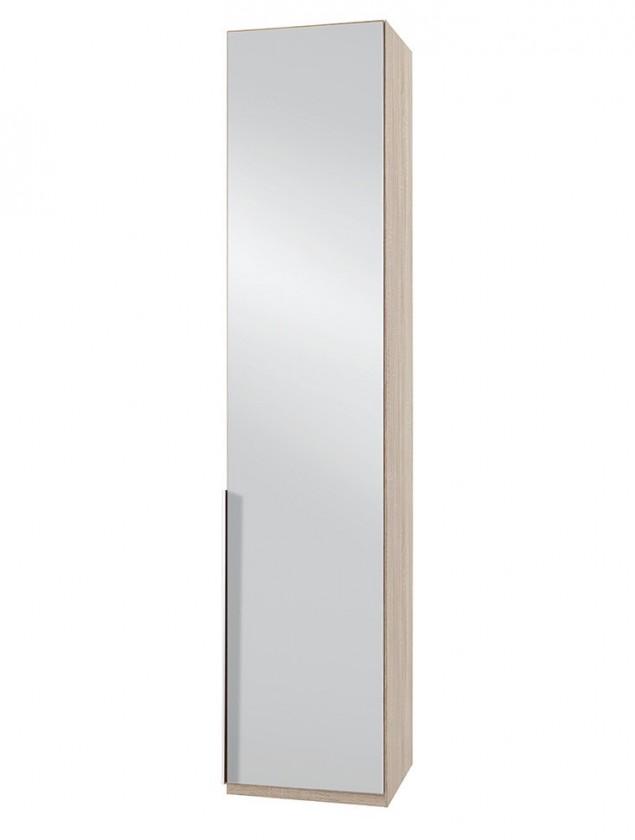 Klasická NewYork7 - Skriňa, 50/234/58 (zrkadlo/dub)