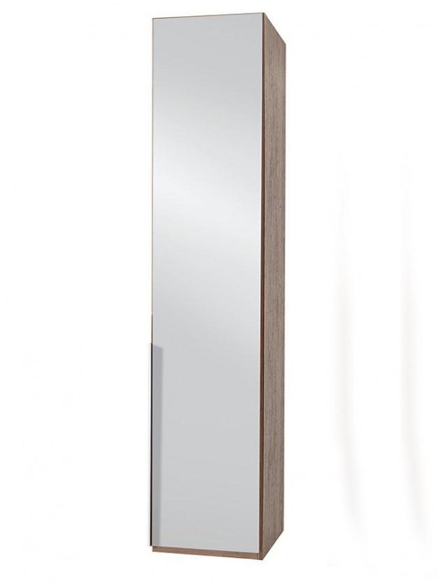 Klasická NewYork7 - Skriňa, 50/234/58 (zrkadlo/orech) P18406