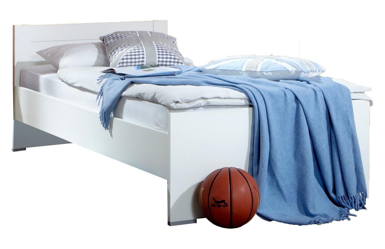 Klasická posteľ Filou - Posteľ 90x200 cm (alpská biela)