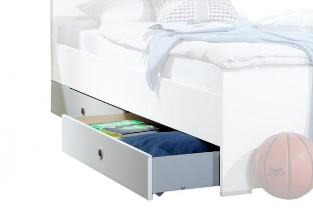 Klasická posteľ Filou - Úložný priestor pod posteľ (alpská biela)