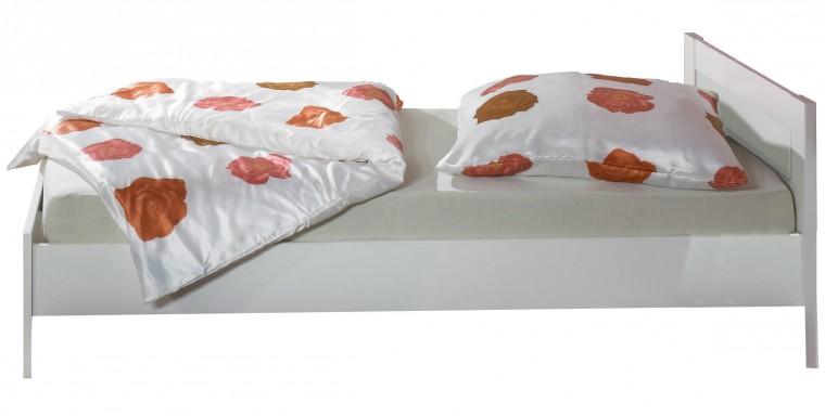 Klasická posteľ Jette - 320299 (alpská biela)