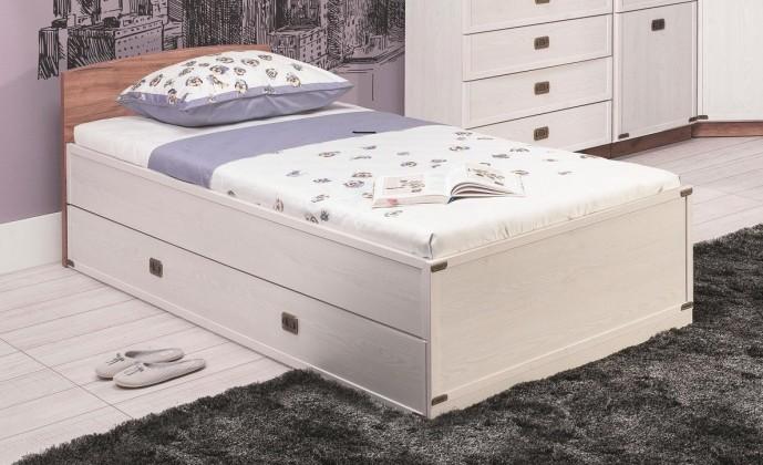 Klasická posteľ Magic - Posteľ (smrekovec sibírsky, dub)