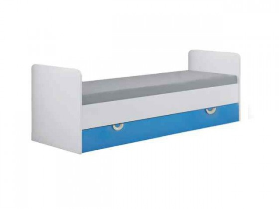 Klasická posteľ Manta 15(modrá)