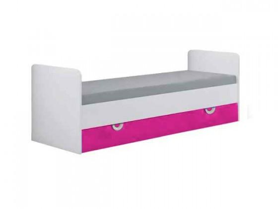 Klasická posteľ Manta 15(ružová)